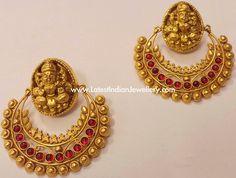 Ram Leela Antique Gold Earrings