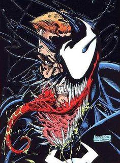 Venom - Marvel Comics - Comic Book Art