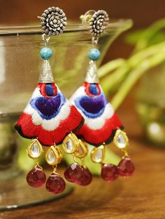 Designer earrings collection online at Styyo jewellery store.