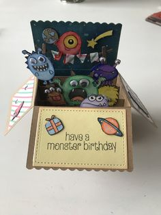 Explosion box monsters