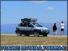 France bivouac et Tourisme, Renault scenic rx4 4x4 kangoo aménagé, dormir, camping , tente de toit, camping car, voyage, raid 4x4, suv-34, baroud, roadbook Pyrénées