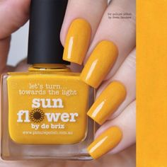 piCture pOlish : Picture Polish Sunflower Shop here- www.color4nails.com Worldwide shipping available