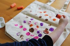 Love this activity! Decorate your own reusable shopping bag