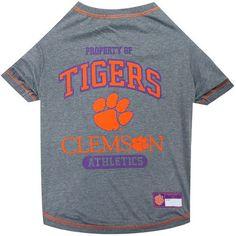 Clemson Tigers Dog Tee Shirt
