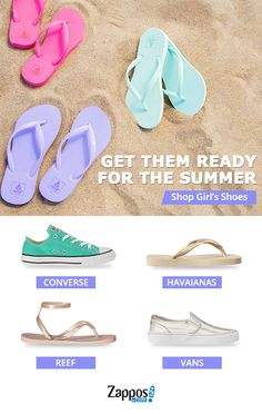 A girl's love for shoes can start at a very young age. And with thousands of styles at your fingertips, you couldn't have picked a better time (or place!) to start searching for the season's best shoe styles. From toddler to teenager, Zappos have your girls' shoe needs covered. Shop today.