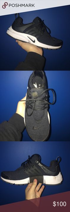 Size 9 (Women's) Nike Air Presto Black and White Size 9 (Women's) Nike Air Presto Black and White // Worn 3 times in great condition Nike Shoes Sneakers