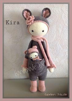 Kira de kangoeroe en haar baby!