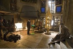 harry potter behind the scenes Fans D'harry Potter, Harry Potter Films, Harry Potter Love, Harry Potter World, Voldemort, Maggie Smith, Light Cinema, Top Photos, Yer A Wizard Harry