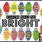 Reading Makes You Bright Bulletin Board Beginning Of The School Year, Primary Classroom, Bulletin Boards, Letters, Bright, Make It Yourself, Reading, Bulletin Board, Letter