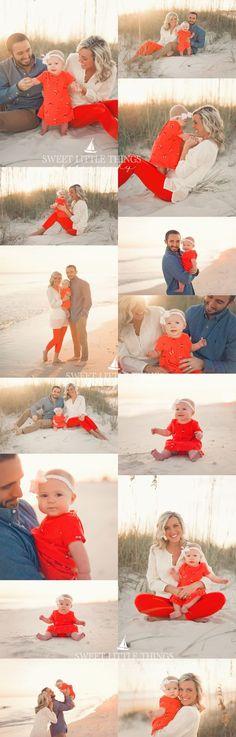 Gulf Shores & Orange Beach Photographer | Family Beach Session | Sweet…