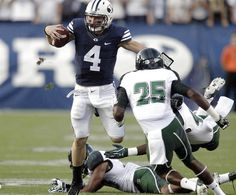 BYU football: Taysom Hill stars as Cougars run over Hawaii 47-0