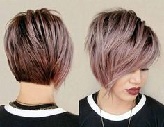 Edgy Haircuts for Round Faces