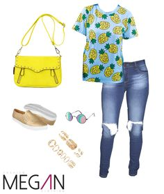 #amarillo #yellow #piñas #jeans #chicas #girl #barranquilla #colombia #fashionmegan24 #fashion