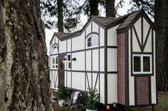 Tudor Style Tiny Home