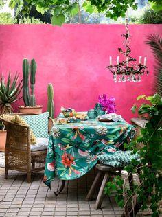 ATELIER RUE VERTE , le blog: Collectif Project Inside / Des patios hauts en couleur /