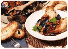Zuppa di Cozze con crostini di pane #italianfood #food #recipes #cucina #ricette