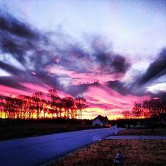 Carrollton, #Georgia sunset. Photo by @bocajess1.