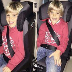 Safety and comfort for children with our multigroup car seat #janegrand // Seguridad y comodidad para los niños con nuestra silla #Grand gracias @maria_rodsant