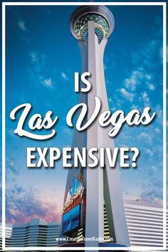 Is Las Vegas expensive? How much will it cost to go to Vegas? We share a full cost breakdown of Las Vegas so you know exactly how much to budget for!  #LasVegas #LasVegasStrip #LasVegasTips