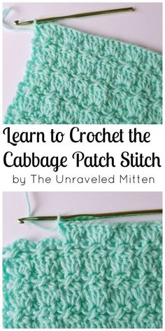 Cabbage Patch Stitch | Learn a new stitch!