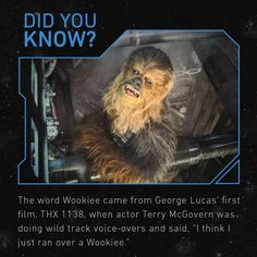 George Lucas, Love Stars, Just Run, Long Time Ago, Did You Know, Decir No, The Voice, Behind The Scenes, Star Wars