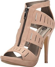 Michael Antonio Womens Trysh Nude 6 M *** Trust me, this is great! Click the image.