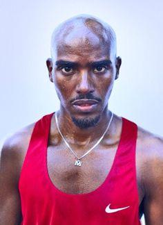 Mo Farah 10,000 meter and 5,000 meter Olympic Champion