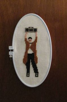 Cross stitch from the best movie EVER.   # Pinterest++ for iPad #