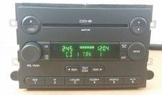 Fusion Milan F150 F250 Edge 6 Disc CD Changer Radio OEM # 6E5T-18C815-AL (3609) #FordOEM