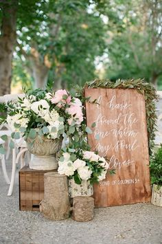 Featured Photographer: Feather & Stone; Welcome Wedding Ceremony Signs