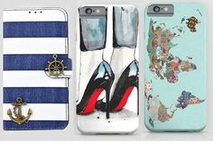 Avoid that cracked screen and give your phone some fashionable shock resistance with these cute iPhone 6 cases.