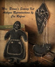 Penny Rugs and More; Mrs. Brown's Sewing Kit pattern