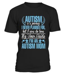 I'm An Autism Mom - Autism Shirt For Mom  #gift #idea #shirt #image #Autism #color #cute #love #forever