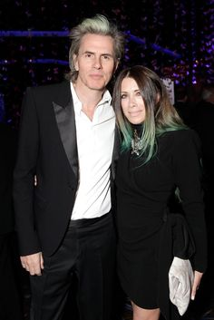 John Taylor and Gela Nash-Taylor.