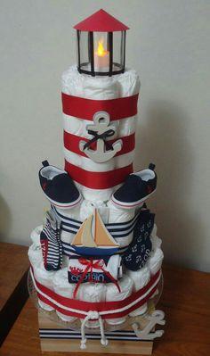 Diaper lighthouse