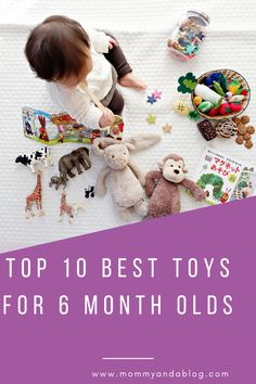 This is a compiled list of the best toys for 6 month old babies. As a new mom, it is overwhelming to know which toys are best. Baby Feeding Schedule, Baby Sleep Schedule, Safety Rules For Kids, Hospital Bag Essentials, Colic Baby, 6 Month Old Baby, Breastfeeding And Pumping, Postpartum Care, Best Kids Toys