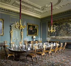 "wonderhome:  ""  Wilton House. The Family Dining Room  pinterest / Mr Books  """