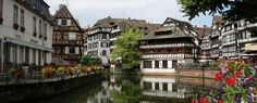 Estrasburgo, La Alsacia, Francia.