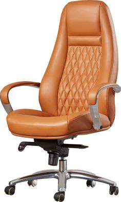 Besse High-Back Office Chair Luxury Office Chairs, Home Office Chairs, Home Office Furniture, High Back Office Chair, Chair And Ottoman Set, Cheap Chairs, Cool Office, Executive Chair, Home Office Design