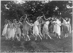 Greek-influenced dance circa 1920.