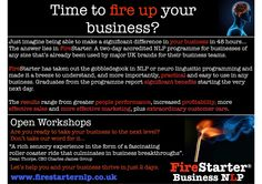 Time to fire up your business?