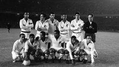 El Santos FC de Pele el 12 de junio de 1963 contra el Barcelona.