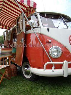 Vintage Volkswagon Van