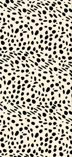 Dalmatian print, dotted, speckled wallpaper