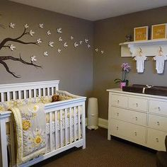 gray-and-yellow-nursery - Design, decor, photos, pictures, ideas ...