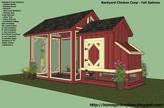 Chicken Coop, Free Building Plans