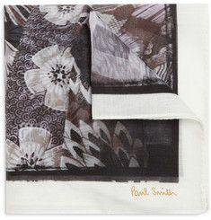 Smithstamatic Printed Cotton Handkerchief