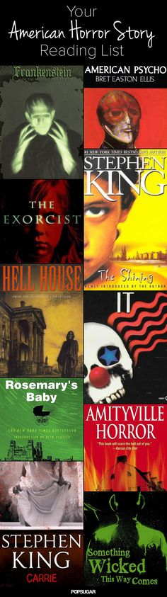Books to Read If You Like American Horror Story