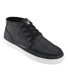 Look what I found on #zulily! Black Walt Hi-Top Sneaker #zulilyfinds