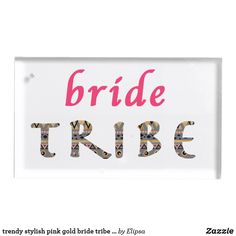 Shop trendy stylish pink gold bride tribe patter table number holder created by Elipsa. Wedding Supplies, Wedding Favors, Wedding Reception, Table Number Holders, Place Card Holders, Wedding Bridesmaids, Bridesmaid Gifts, Metal Card Holder, Tribal Patterns